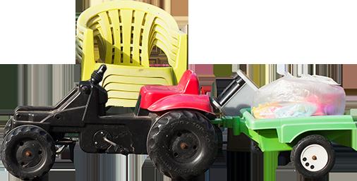 plastic auto stoelen